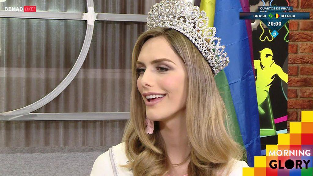 """Ángela Ponce: """"Siempre he soñado muy alto, pero no esperaba llegar a Miss Universo"""""""