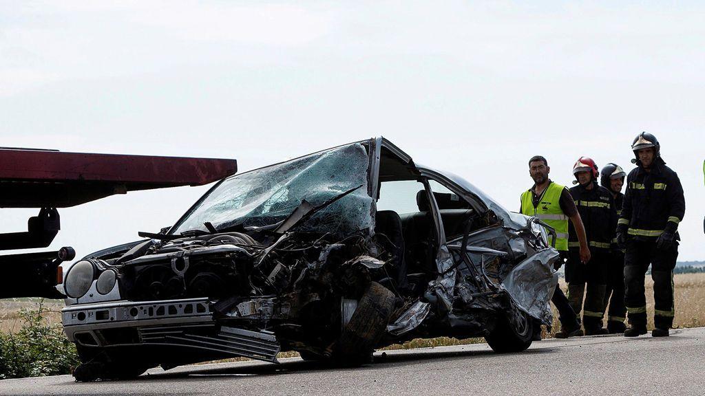 Padre e hijo mueren en un accidente de circulación en Pozuelo de Tábara, Zamora