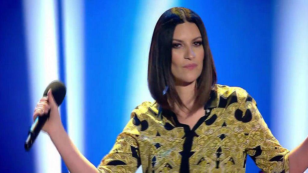 Laura Pausini estrena su tema 'Nuevo' en la gran final de 'Factor X'