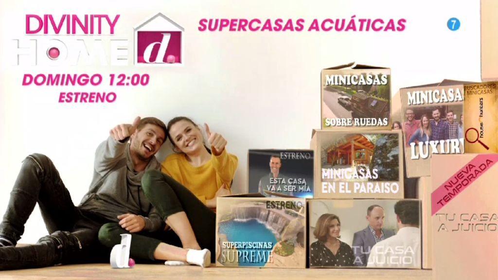 ¡Programón a la vista! 'Supercasas acúaticas', estreno este domingo a las 12:15 horas en Divinity