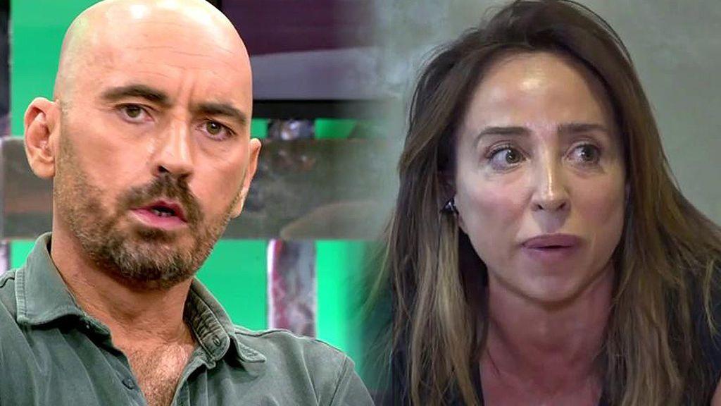 """El cara a cara de Diego Arrabal y María Patiño: """"Si hay una mentirosa desde hace años eres tú"""""""