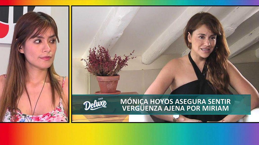 """Mónica Hoyos se propone acabar con Miriam Saavedra: """"La he demandado para defender a mi familia"""""""