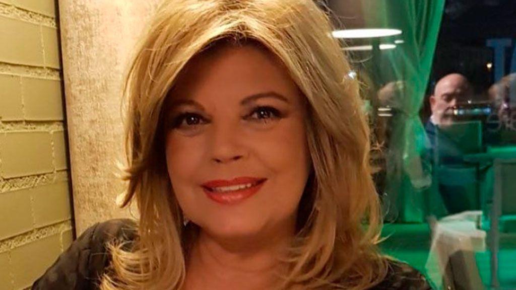 Terelu Campos, tan vital como siempre las horas previas al comunicado público de su cáncer