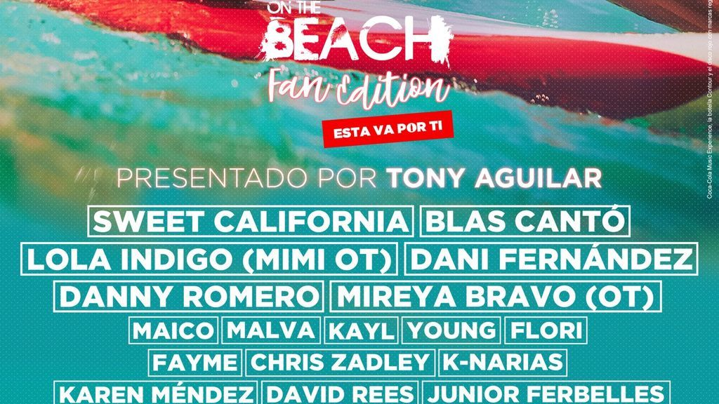 ¡Blas Cantó y Mireya, confirmados para el CCME On The Beach!