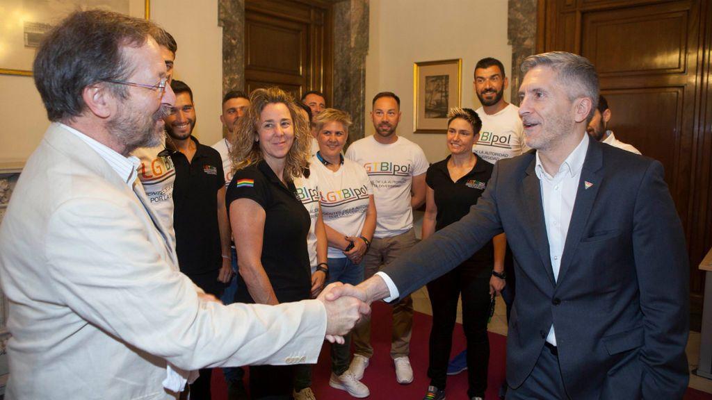 """Marlaska asegura que """"no va a dejar de atender"""" los derechos de los LGTBIQ+"""