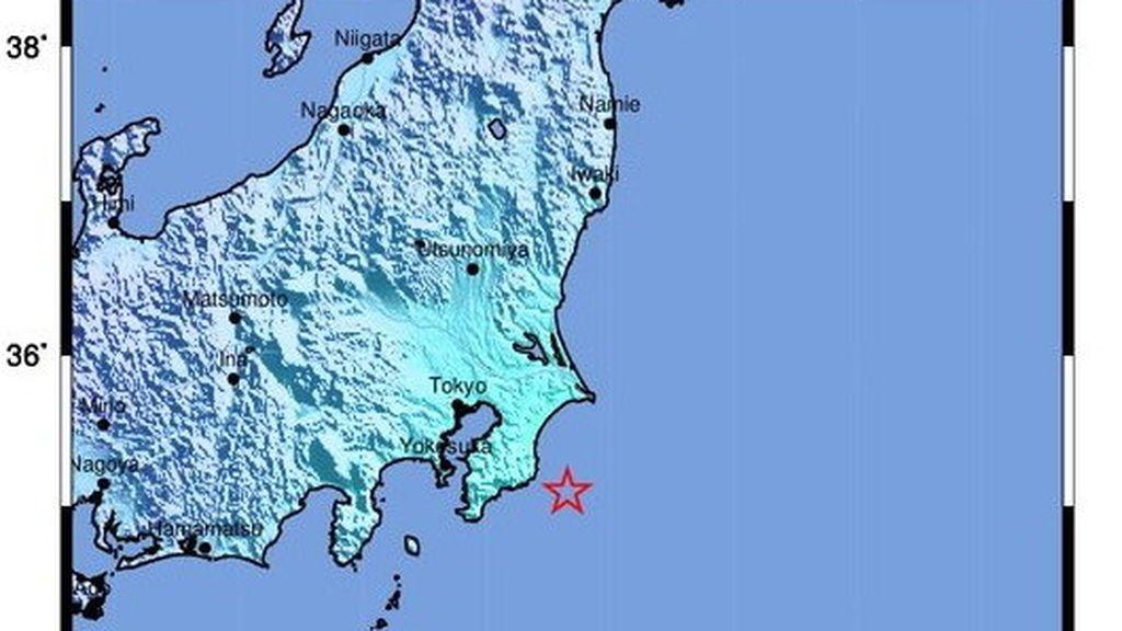 Un terremoto de magnitud 6 sacude la región de Tokio