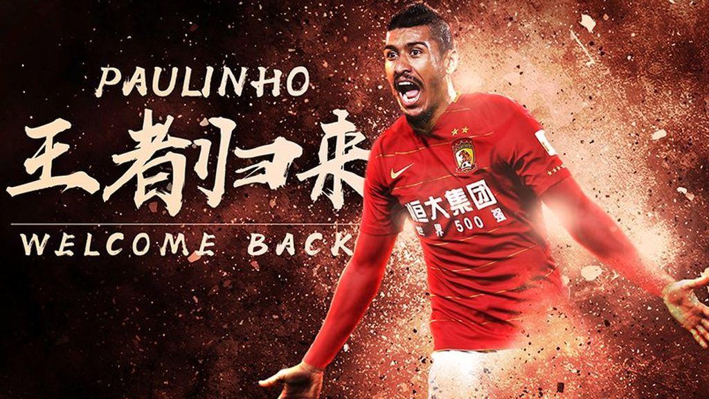 Oficial: Paulinho deja el Barcelona y vuelve a China
