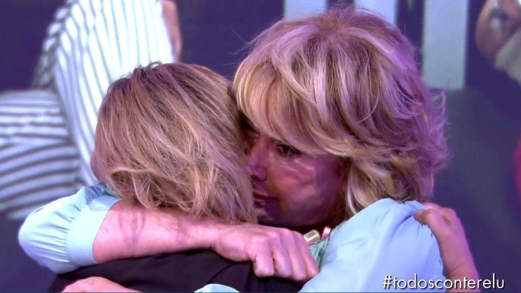 """El emotivo reencuentro entre Terelu y Mila: """"No sé cómo ayudarte"""""""