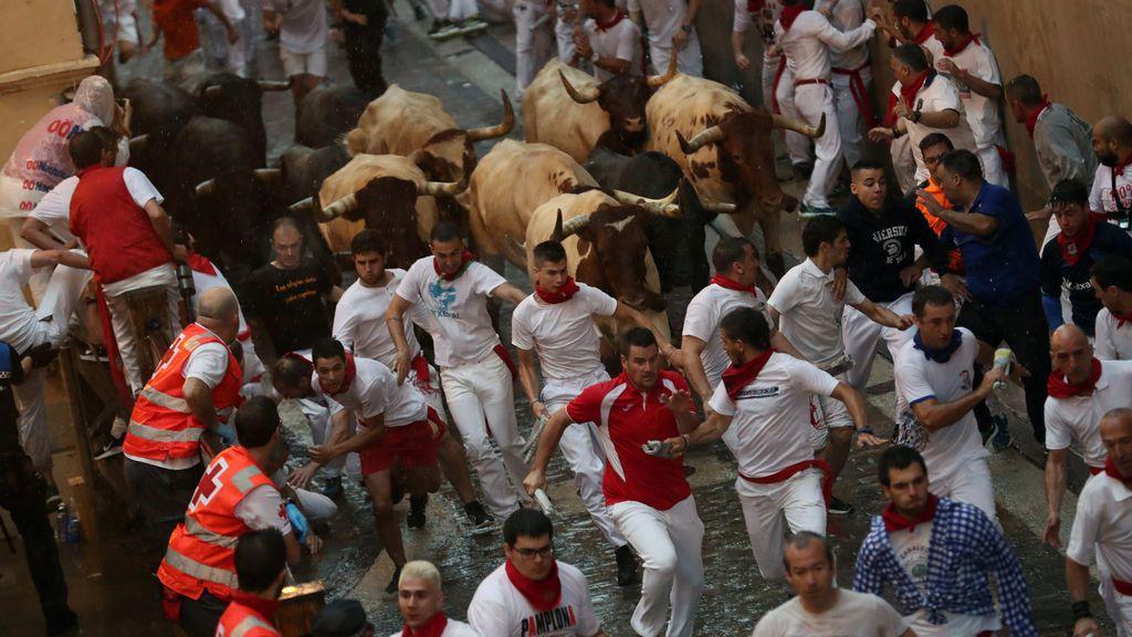 Segundo encierro San Fermín