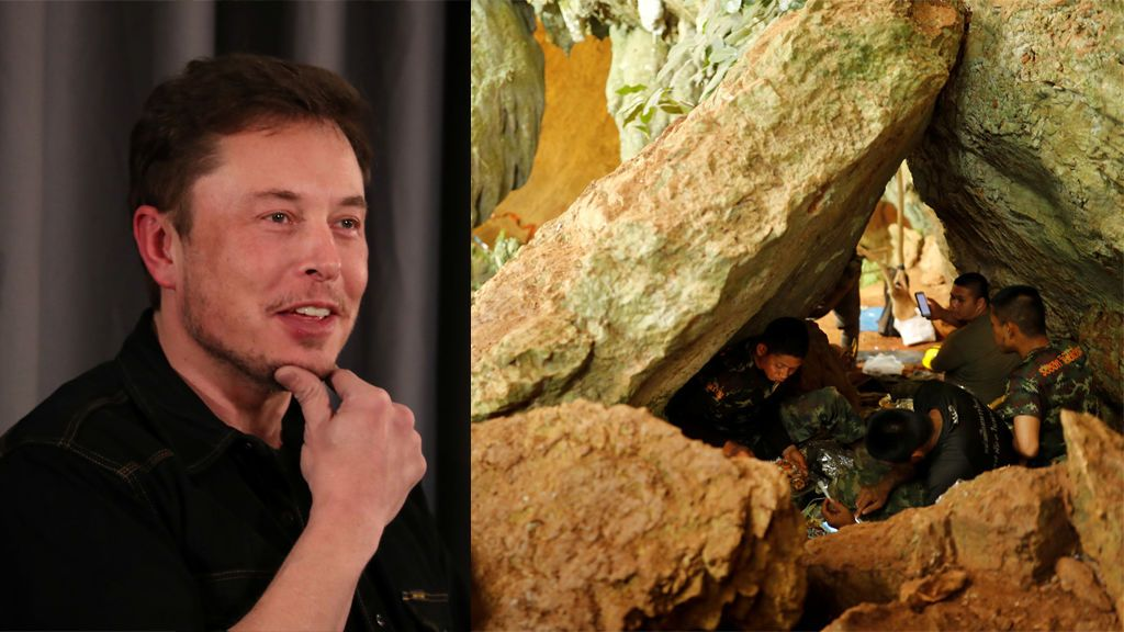 El dueño de Tesla desarrolla una 'cápsula de escape' para colaborar en el rescate de Tailandia