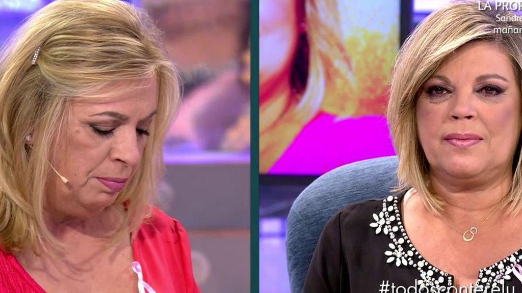 "Carmen Borrego lee una carta de Alejandra a Terelu Campos: ""Esta vez voy a estar ahí, mamá"""