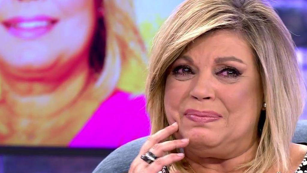 """Terelu, entre lágrimas, a la prensa: """"Necesito que me cuidéis a Alejandra. Os lo compensaré"""""""