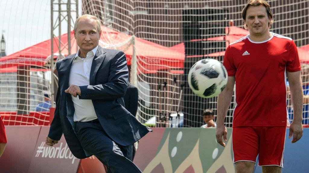 """Putin, """"orgulloso"""" tras la eliminación de Rusia en el Mundial"""
