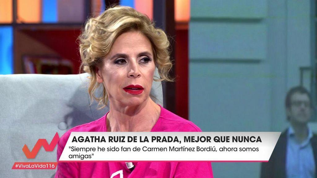 """Ágatha Ruiz: """"Carmen Martínez Bordiú me presentó a Luismi"""""""