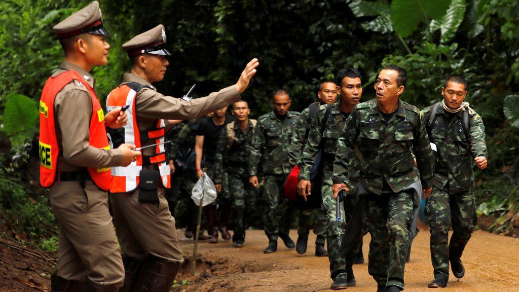 Toda ayuda favorece el rescate de los niños de Tailandia