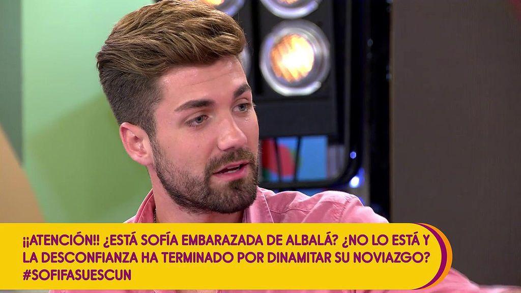 """Albalá desmiente que Sofía esté embarazada: """"Me molesta bastante que lo diga porque es mentira"""""""