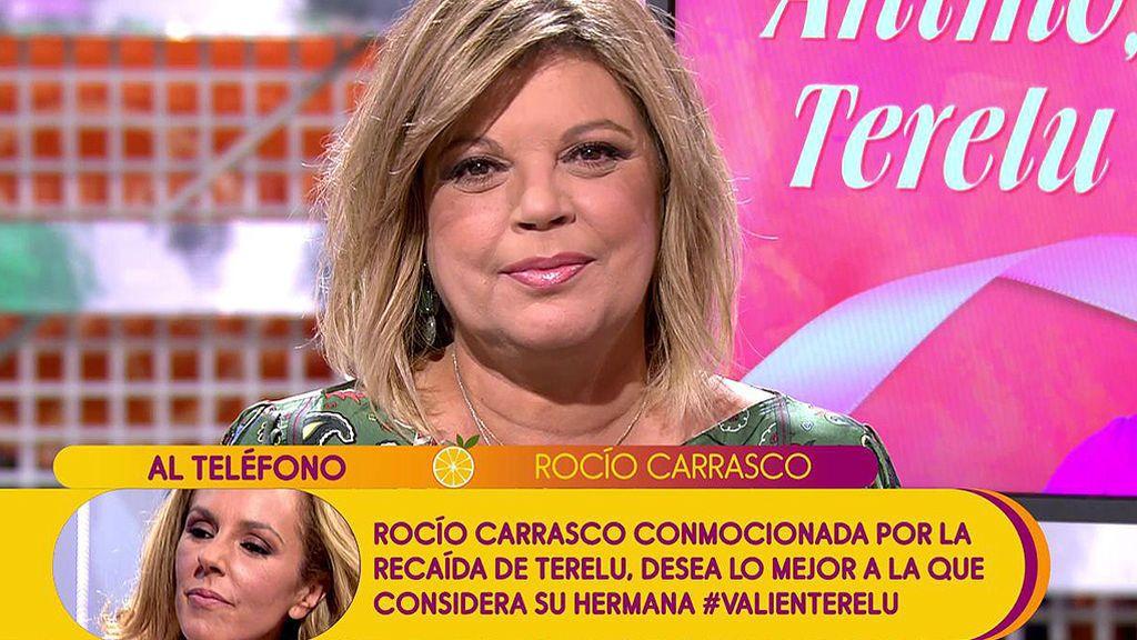 """Rocío Carrasco, a Terelu Campos: """"Sabes que puedes con ello"""""""