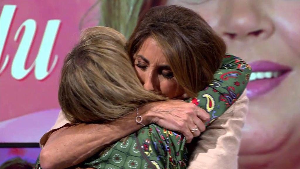 """Paz Padilla, muy emocionada con Terelu: """"Cuando pasó la primera vez yo me apuntaba todas tus quimios"""""""
