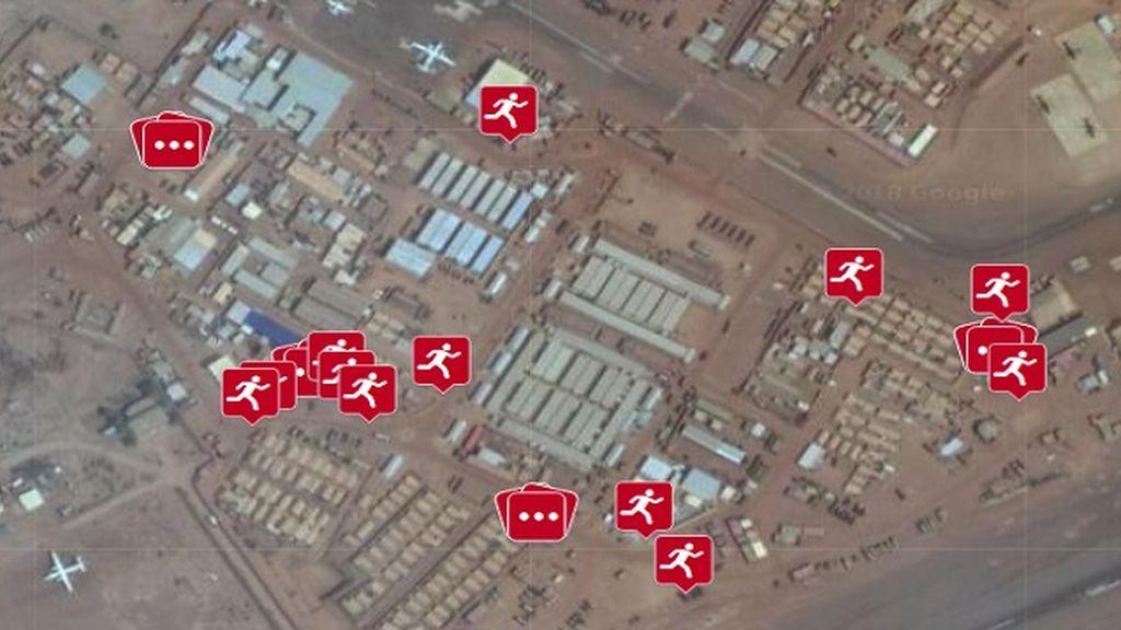 La app de fitness Polar desvela la localización de bases militares