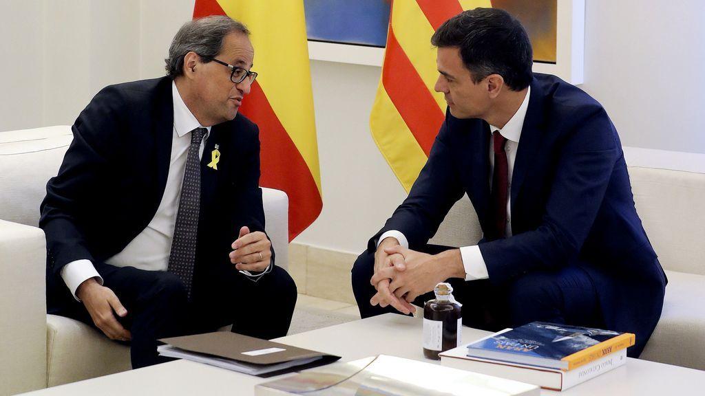 Sánchez y Torra reactivan las comisiones bilaterales entre el Estado y Cataluña