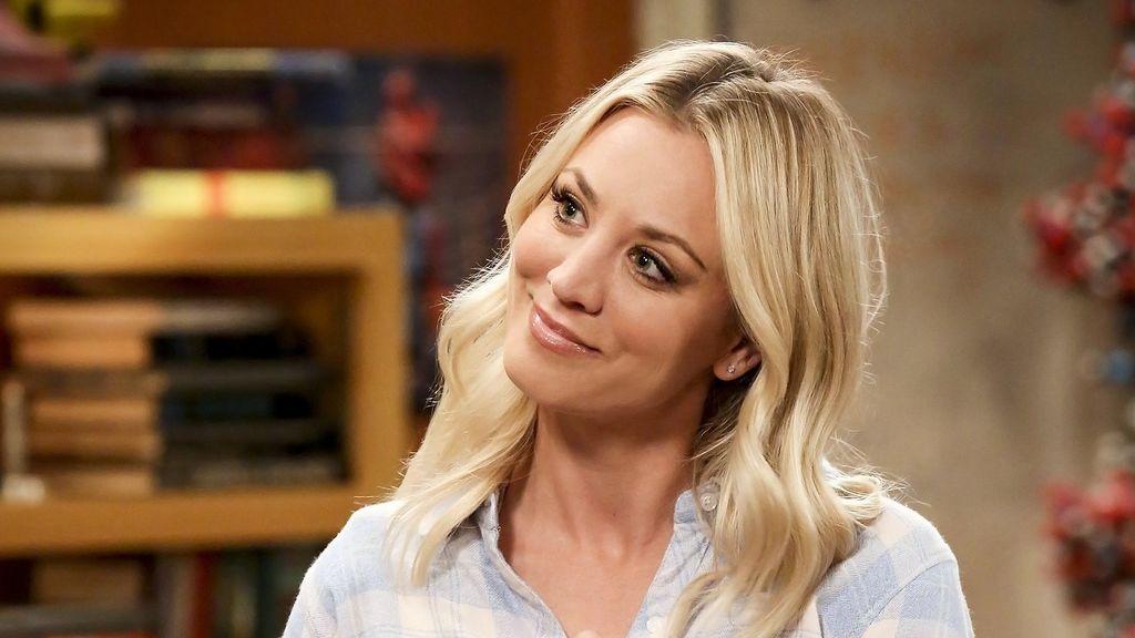 Kaley Cuoco, que da vida a Penny en 'The big bang theory',  en el capítulo 'Contaminación de la colaboración' de la temporada 11.