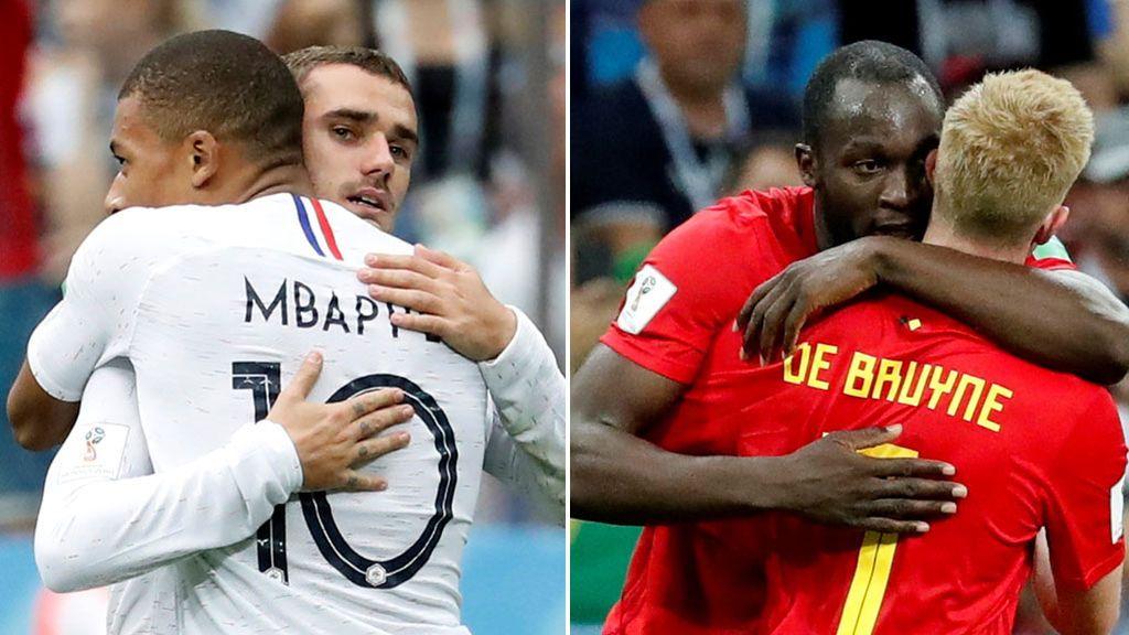 Francia - Bélgica: 'bleus' y 'Diablos Rojos' buscan una plaza para la final este martes a las 20.00 horas en Telecinco