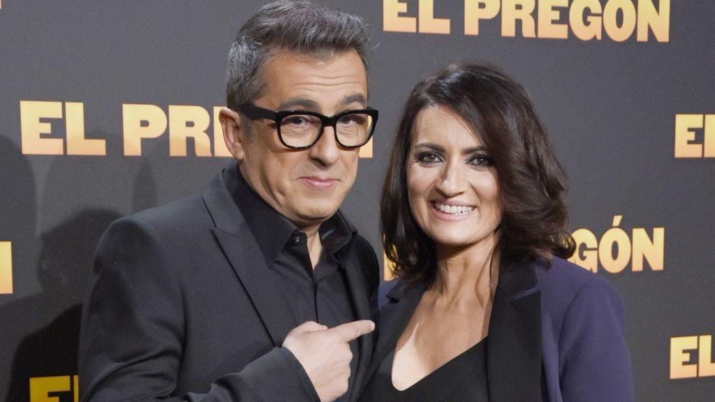 Andreu Buenafuente y Silvia Abril, en el estreno de la película 'El Pregón' el 16 de marzo de 2016.