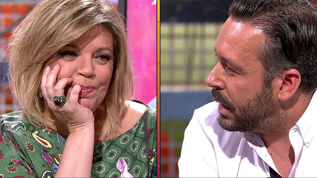 """Kike Calleja, a Terelu Campos: """"He entendido por qué estoy en tu vida: te quiero, estoy para cuidarte y protegerte"""""""