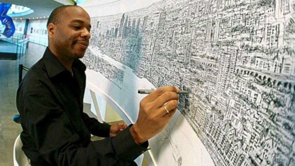 Stephen Whiltsire, el genio de los paisajes urbanos