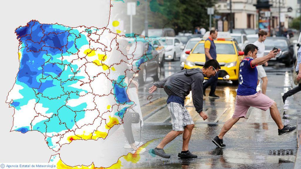 Prepárate a partir del miércoles: bajan las temperaturas y vuelven las tormentas