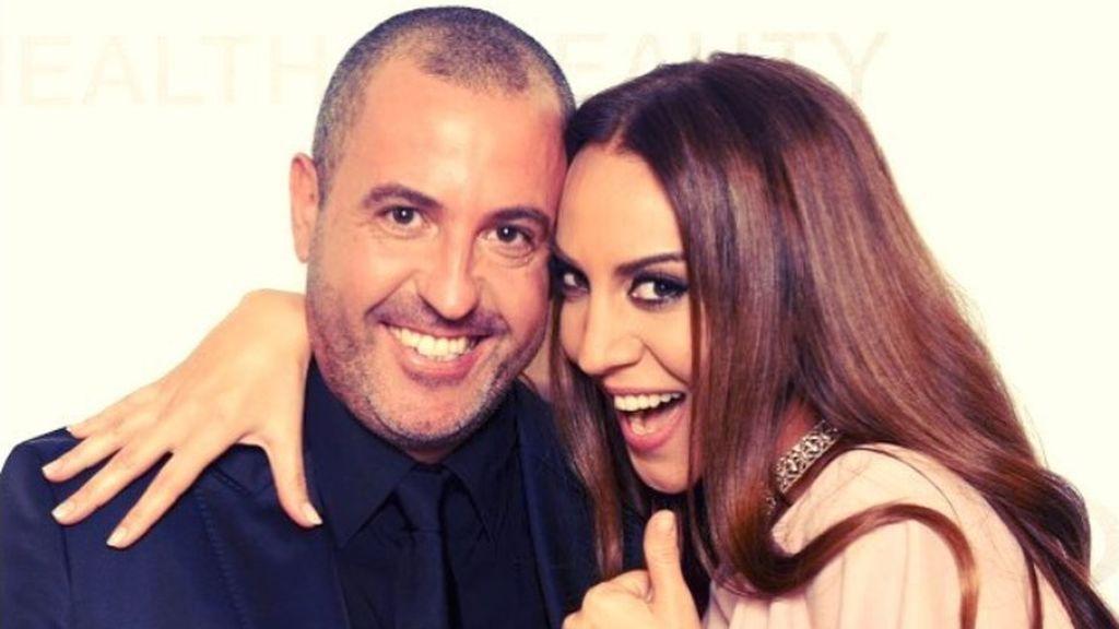 Óscar Tarruella y Mónica Naranjo, en una imagen subida por la cantante a su cuenta de Instagram.