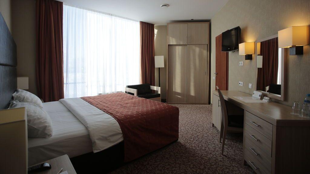 Habitación de hotel.