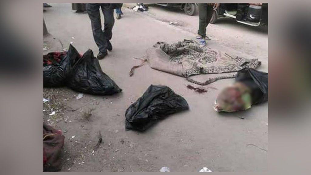 Hallan los cadáveres desmembrados de tres bebés en una bolsa de basura en Egipto