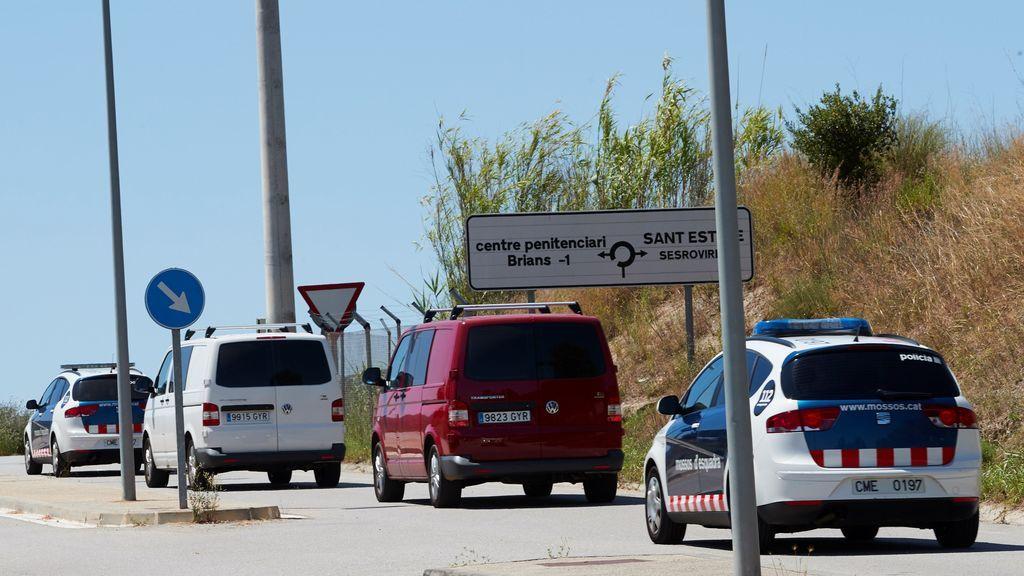 La Guardia Civil traslada este martes a Turull, Rull y Forn con una escala en Zuera