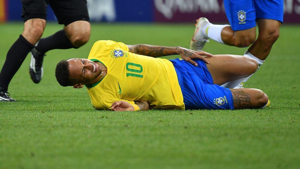 Emergencias de Portugal usa a Neymar para explicar el mal uso de las llamadas de urgencia