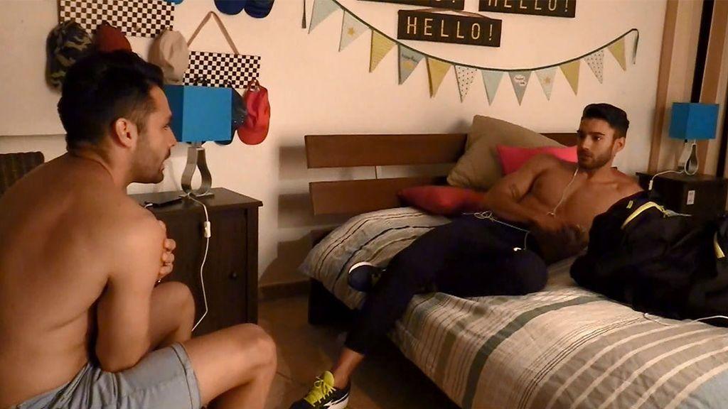 Jaime se sincera con Eleazar: se ha dado cuenta que Aldana le gusta más de lo que él pensaba