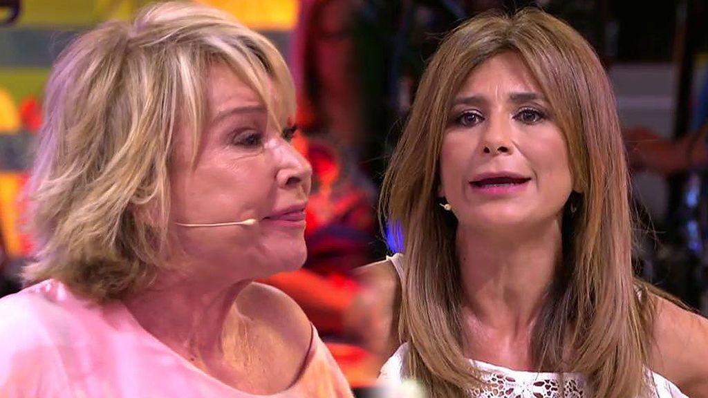 """El 'enganchón' de Mila Ximénez y Gema López: """"Parece que aquí nadie se quita la ropa interior"""""""