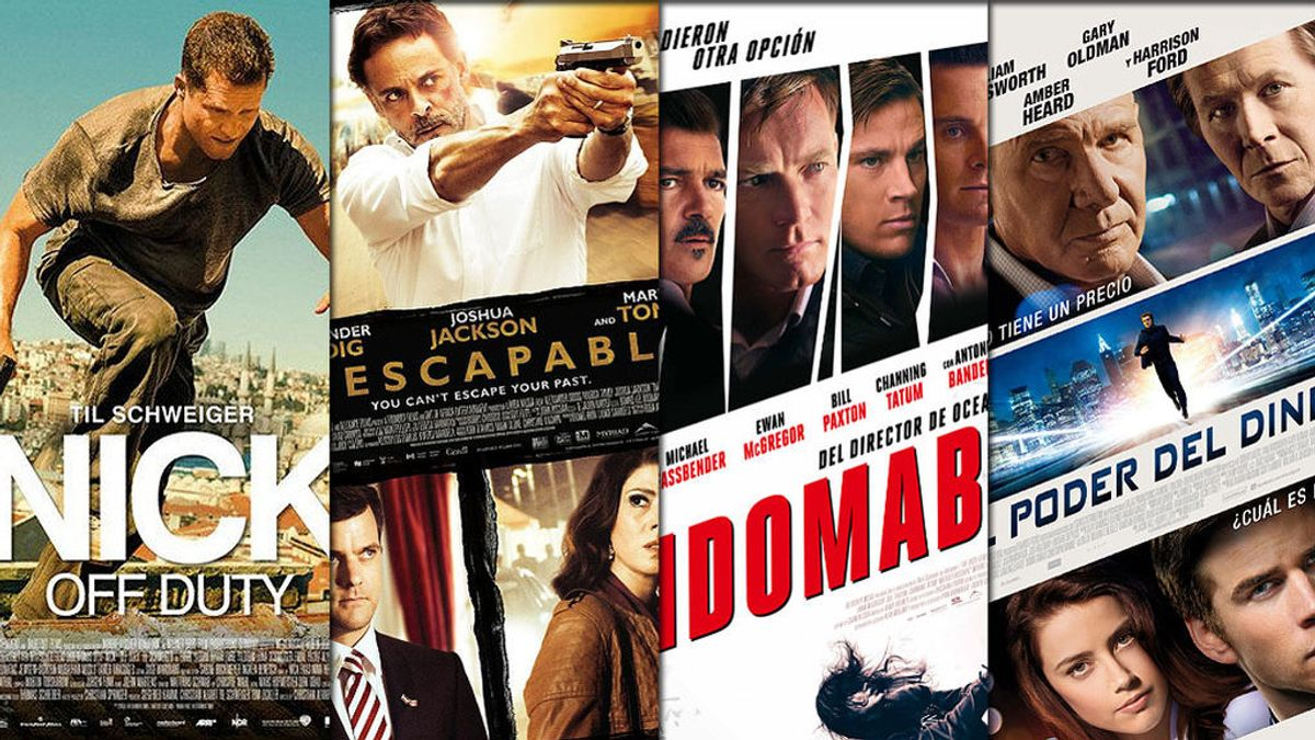 'Indomable', 'El poder del dinero'… Semana de cine de acción en FDF