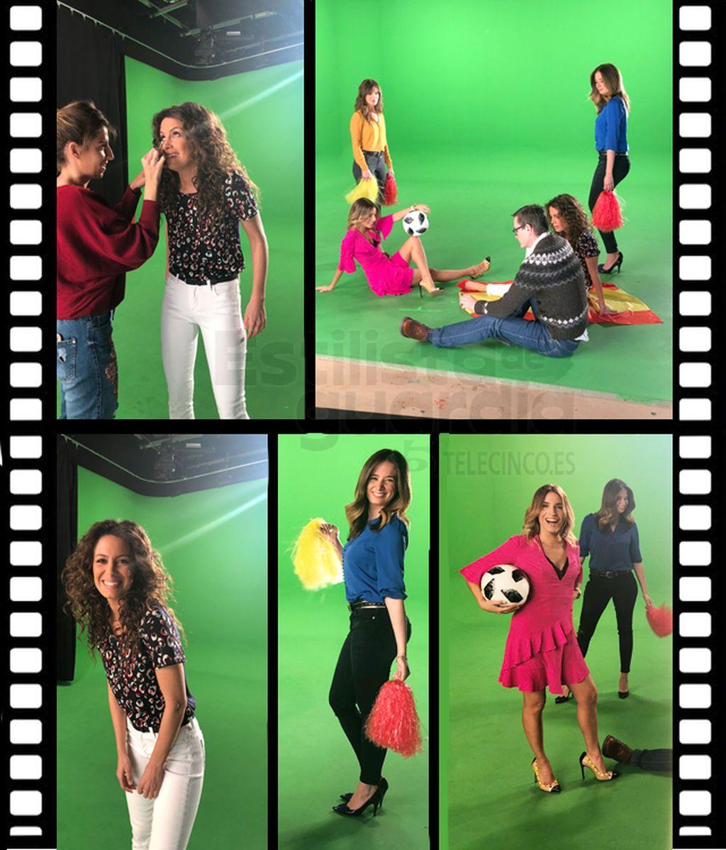 Baila con Mediaset y las chicas del tiempo