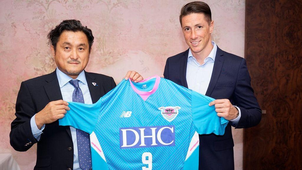 El Niño Torres llega al futbol japones con el Sagan Tosu