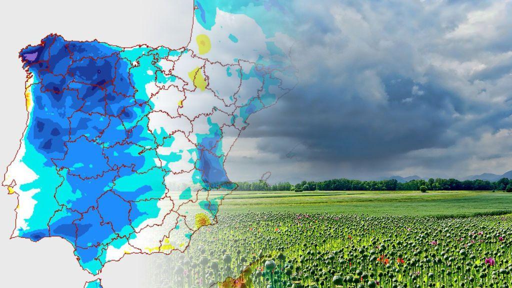 Hasta 7ºC menos: la dana se lleva este miércoles el aire africano y trae tiempo fresco de nuevo