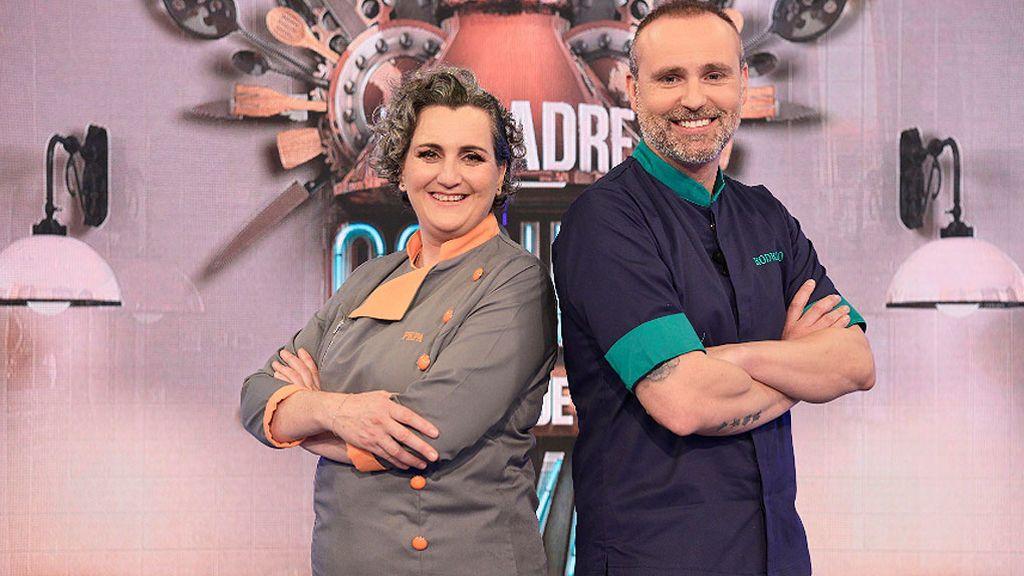 Pepa Muñoz y Rodrigo de la Calle, los chefs de 'Mi madre cocina mejor que la tuya'