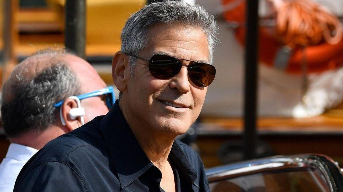 George Clooney, ingresado en Italia tras un accidente de moto
