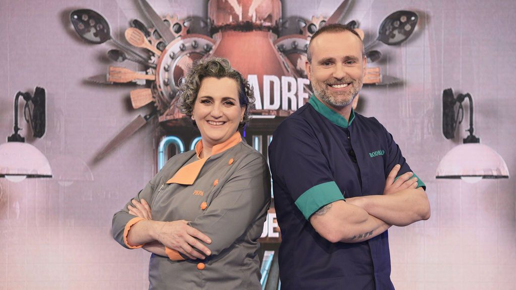 Chefs Pepa Muñoz y Rodrigo de la Calle, 'Mi madre cocina mejor que la tuya'