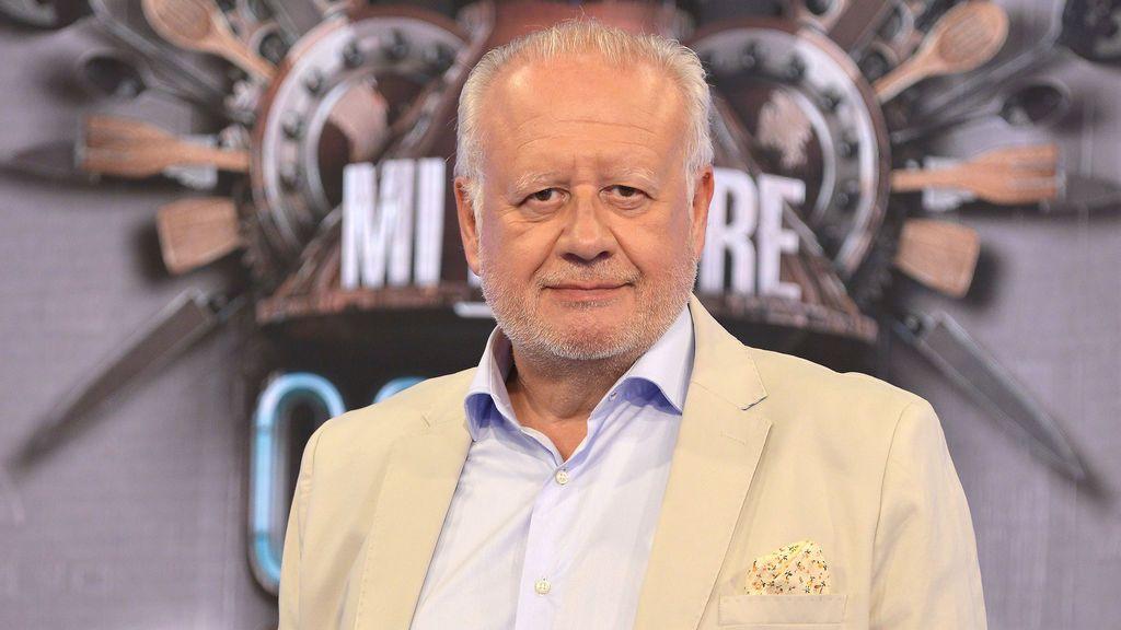 Juan Echanove, actor, 'foodie' y jurado de 'Mi madre cocina mejor que la tuya'.