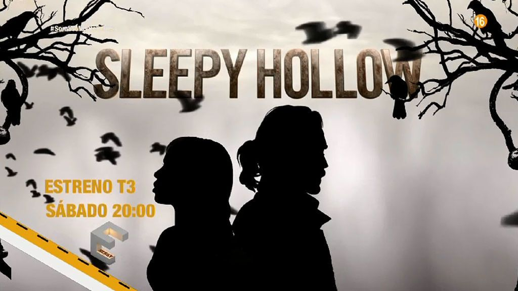 Estreno de la 3ª Temporada de 'Sleepy Hollow' en Energy