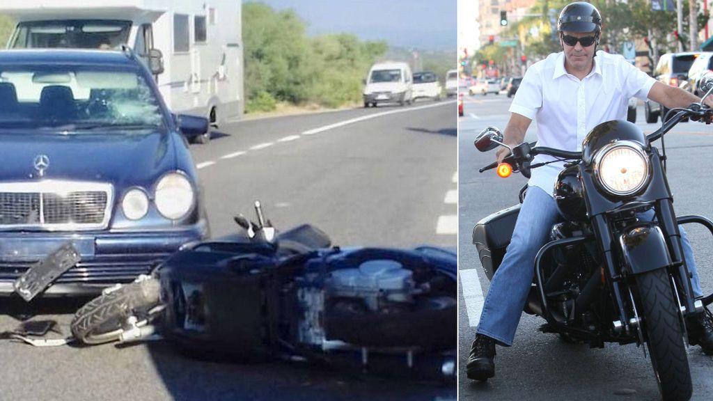 Se filtra el vídeo del impactante accidente de tráfico de George Clooney en Cerdeña