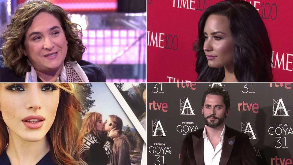 """""""Yo soy bisexual"""": Ada Colau y otros vips que lo han contado"""