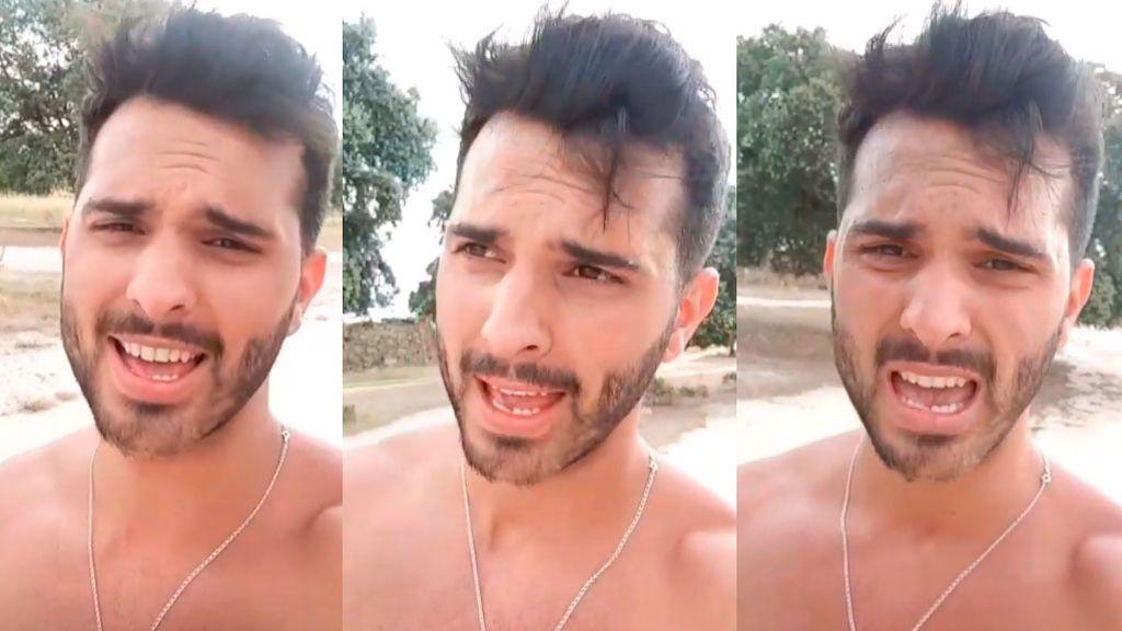 """Suso Álvarez, atacado por las avispas: """"Iba corriendo y han venido todas a por mí"""""""