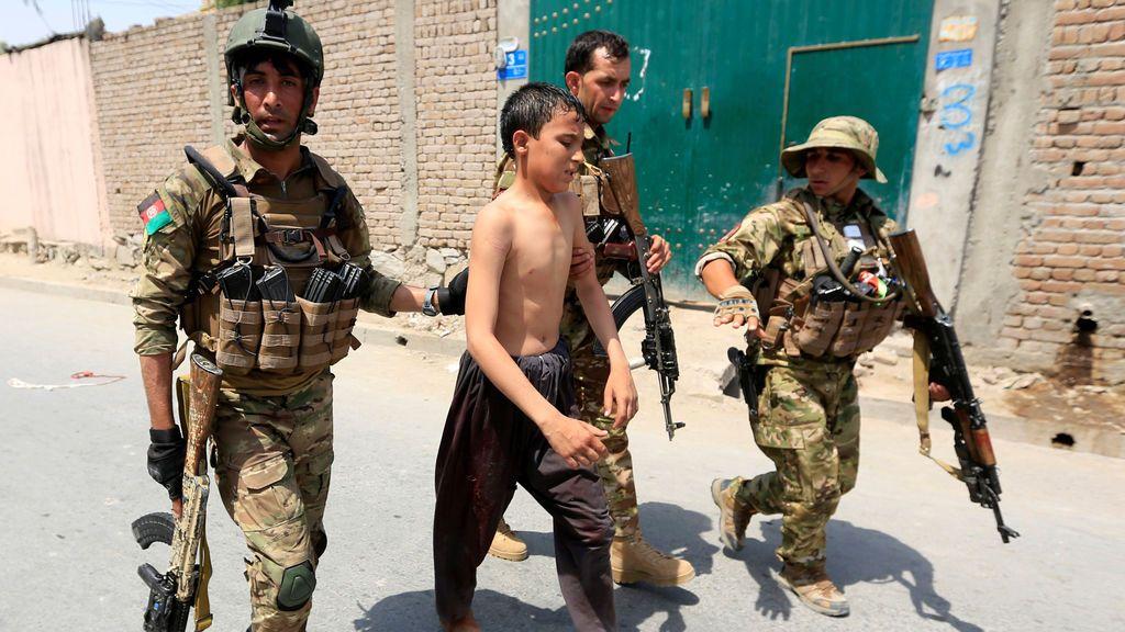 Altercados tras los disparos en Jalalabad